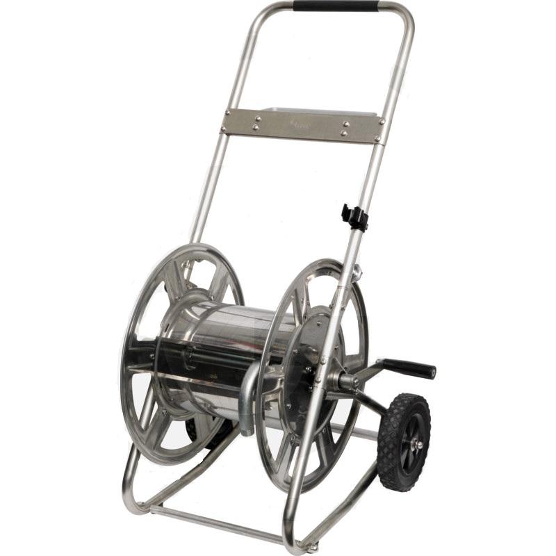 """Nerezový vozík na zahradní hadici 3/4"""" 50 m"""