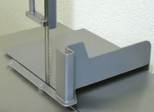 Posuvný stůl pro řeznickou elektrickou pásovou pilu na kosti a maso Mainca BM 3000 JV