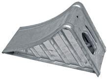 Zakládací klín pod kola ocelový zinkovaný k zajištění přívěsu délka 380 mm