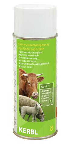 Zelený sprej na paznehty ovcí a skotu 400 ml