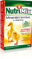 Nutrimix pro výkrm a odchov drůbeže, vitamíny pro kuřata, kachňata, housata, krůťata 1 kg