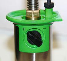 Plynový odrohovač GasBuddex s vypalovacím hrotem o průměru 20 mm