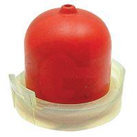 Pumpička dlouhá  s otvorem a upevňovacím kroužkem pro karburátory motorů Briggs & Stratton