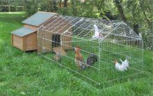 Klecový výběh PEN pro drůbež, slepice, králíky nebo morčata 103 x 103 x 220 cm