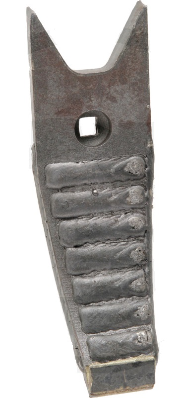Hrot radlice pro Köckerling Topmix Heavy Duty s potažením rozměry 80 x 20 x 260 mm