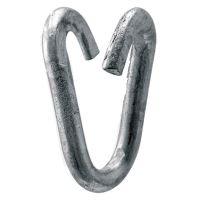Článek řetězu dělený spojovací z ocelového drátu zinkovaný