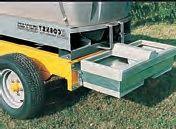 Cisterna na vodu za traktor La Gée 3000 l pro provoz na farmě