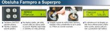 Vlhkoměr obilí digitální Superpro s integrovaným mlýnkem