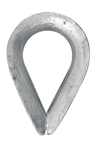 Očnice zinkovaná pro ocelová lana 12 mm