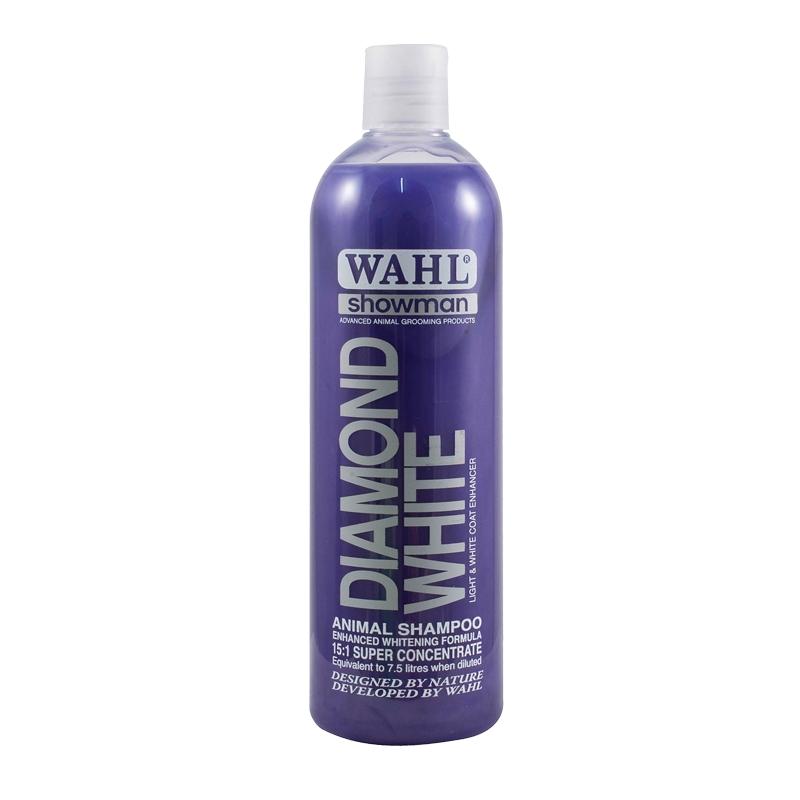Šampón na psy WAHL Diamond White koncentrát 15:1 s výtažky z okurky, limetky 500 ml