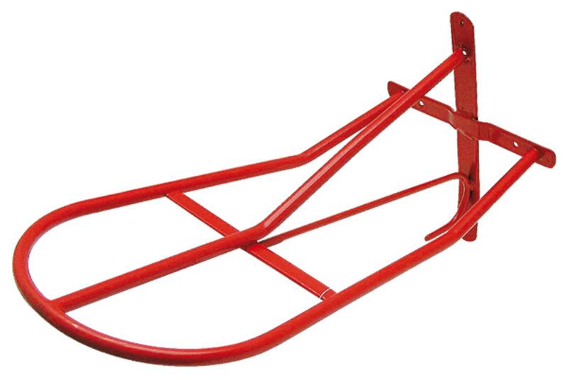 Sedlový držák červený