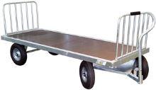 Zábrana pro ruční vozík kovový La GÉE čtyřkolový na balíky sena a slámy
