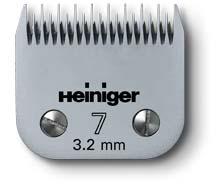 Stříhací hlava na psy 7/3,2 mm pro Heiniger SAPHIR