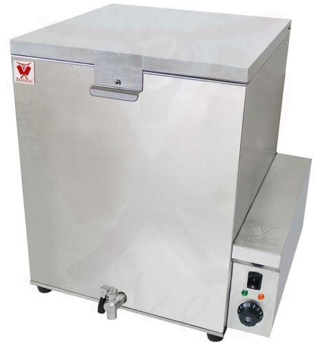 Elektrický pařící kotel BEEKETAL GBA 120 l na paření drůbeže