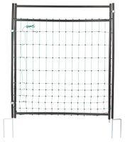 Vodivá brána pro ovčí síť výška 125 cm s dvojitým hrotem