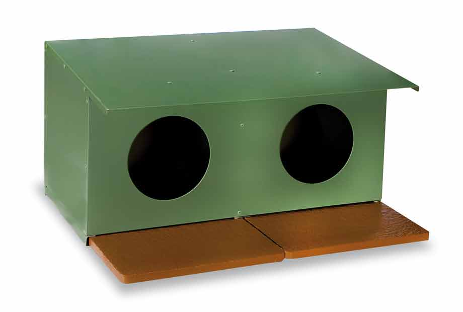 Hnízdo pro holuby barvené dvojmístné