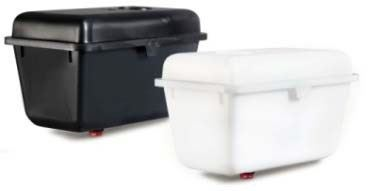 Plastová nádrž pro hadičkové napáječky pro králíky a drůbež 8 l kompletní