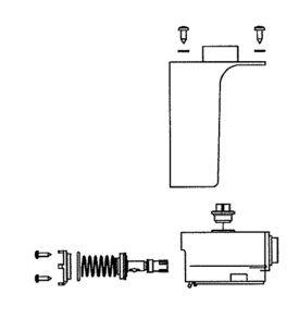 Náhradní ventil pro napáječky SB 24