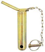 Kolík kat. 2 třetího bodu s řetězem a závlačkou průměr 25 mm délka C=123 mm D=138 mm