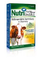Nutrimix pro dojnice, krávy, mladý skot - doplňkové minerálně vitamínové krmivo 1 kg